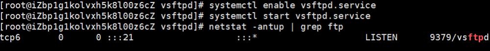 Linux实例搭建FTP站点插图4