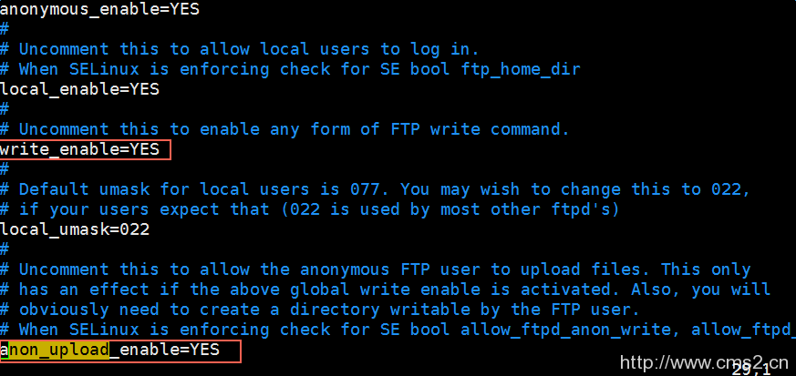 Linux实例搭建FTP站点插图6