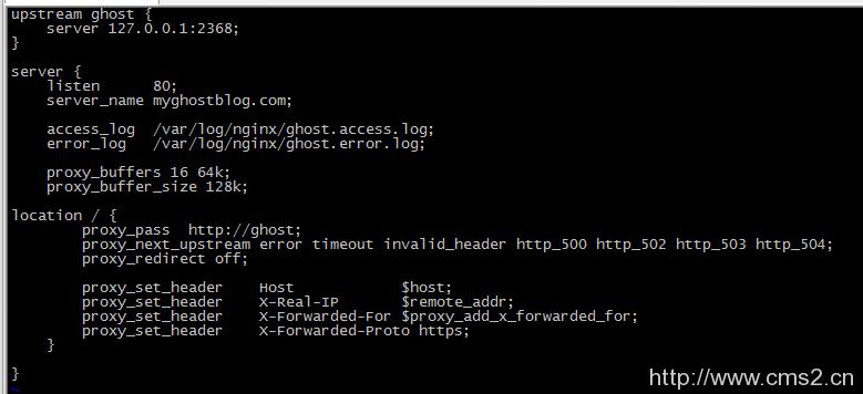 部署Ghost博客(CentOS 7)插图28