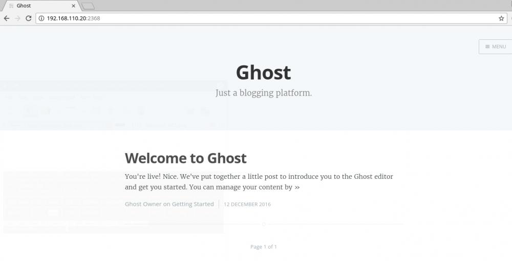 部署Ghost博客(CentOS 7)插图30