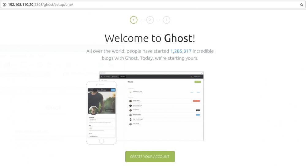 部署Ghost博客(CentOS 7)插图32