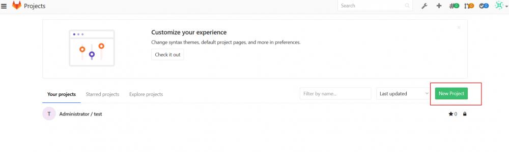 GitLab的安装及使用插图14