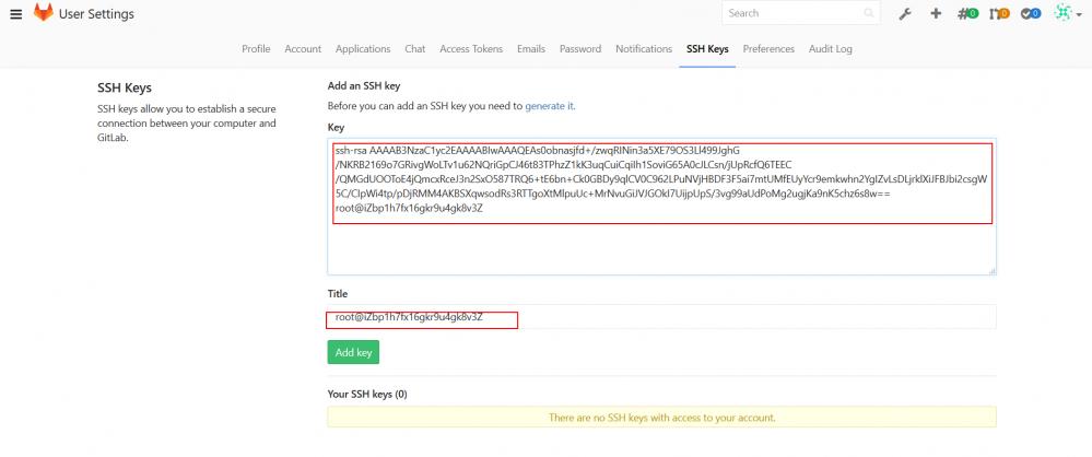 GitLab的安装及使用插图20