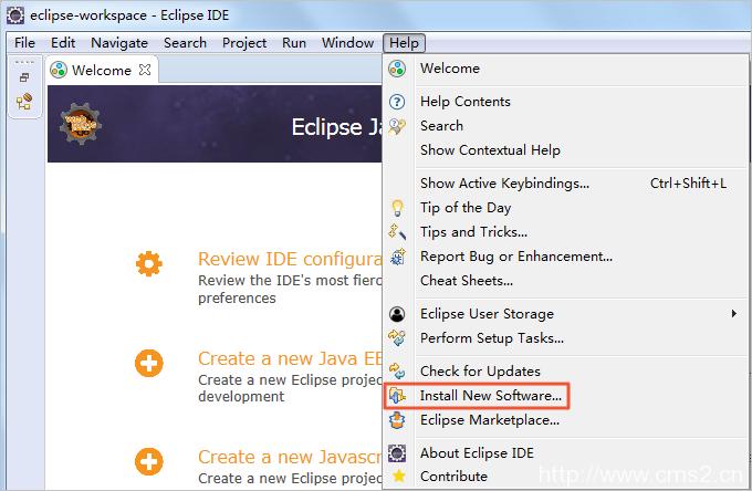 使用Eclipse插件部署插图