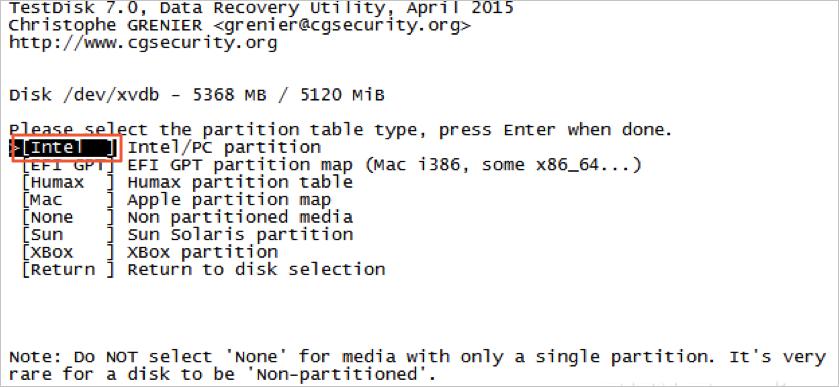 Linux实例中数据恢复插图4