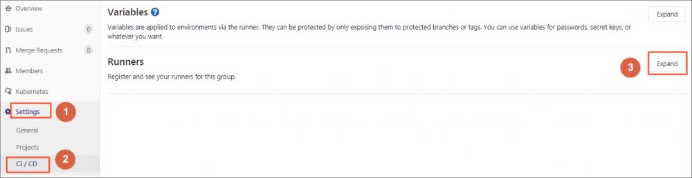 使用GitLab CI在Kubernetes服务上运行GitLab Runner并执行Pipeline插图4