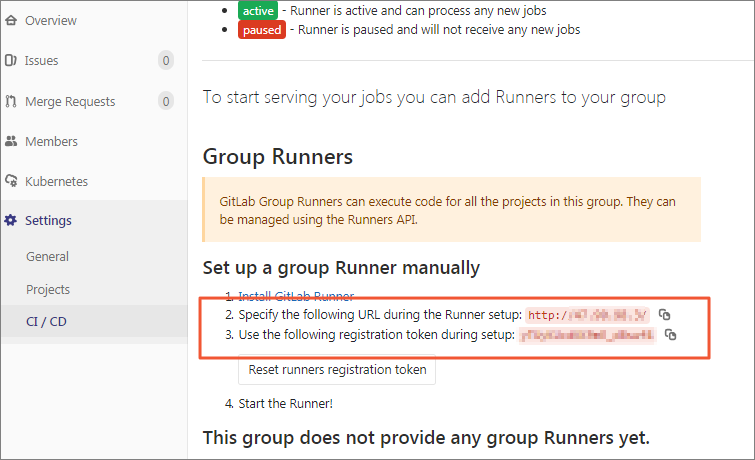 使用GitLab CI在Kubernetes服务上运行GitLab Runner并执行Pipeline插图6