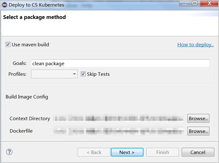 通过在Eclipse中安装Alibaba Cloud Toolkit插件部署应用插图18