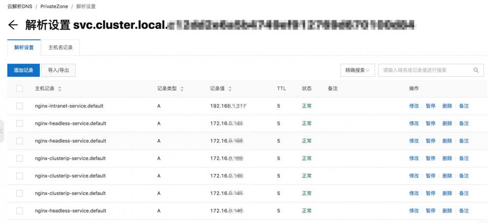 虚拟节点基于云解析 PrivateZone 的服务发现插图4