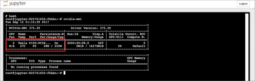 利用 Kubernetes+GPU 方案构建 Tensorflow 应用插图10