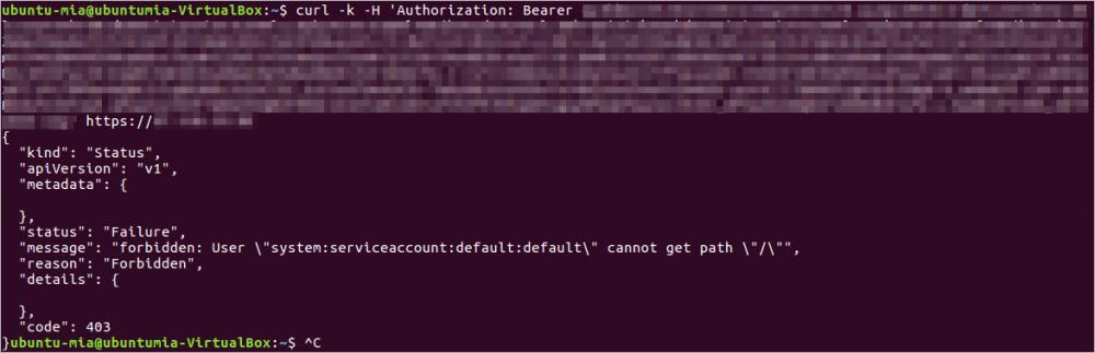 使用ServiceAccount Token访问Kubernetes集群插图6