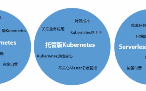 容器服务 Kubernetes 集群三种形态对比